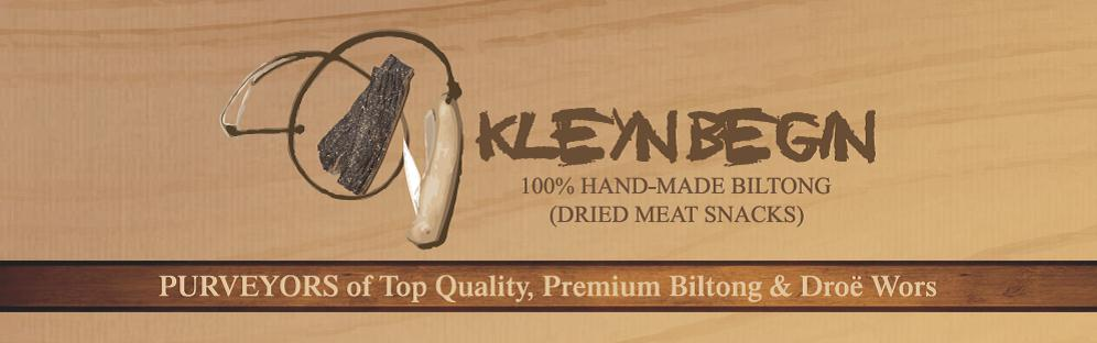 Kleyn Begin Biltong Products